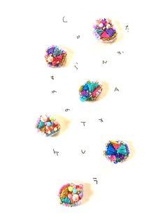 たからものの耳飾り.1 by conatu アクセサリー ピアス | ハンドメイド、手作り作品の通販・販売サイト minne(ミンネ)