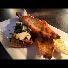 Milwaukee:  Veal bone marrow with foie gras