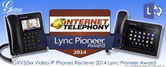 "Akıllı Ofis Telefonu Grandstream ""Lync Pioneer"" Ödülü Aldı - http://www.tnoz.com/akilli-ofis-telefonu-grandstream-lync-pioneer-odulu-aldi-52319/"
