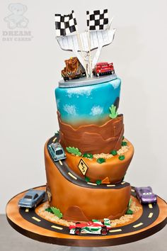 cars birthday cake - Google Search