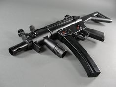 Heckler & Koch MP5-K PDW .177cal BB gun-- our hottest selling product from Christmas 2011.  CO2 powered and only $122.