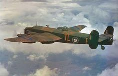 The Handley Page Halifax heavy bomber had similar lines as the Lancaster, especially from the rear aspect.