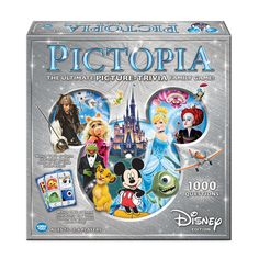 This Disney Edition Pictopia Picture Trivia Family Board Game is multi-faceted trivia for the whole family. Families team up in this collaborative yet competitive trivia game with questions to test how well you know your fellow players. Disney Jr, Disney Junior, Disney Games, Disney Films, Disney Magic, Disney Trivia, Disney Family, Disney Stuff, Walt Disney