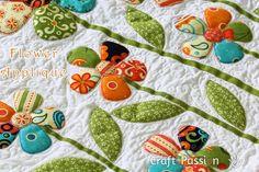 Applique | Flower Pattern | Free Pattern & Tutorial at CraftPassion.com  http://www.craftpassion.com/2013/03/flower-applique-pattern.html/2