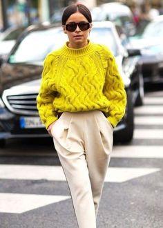 blusão cropped tricô look de inverno
