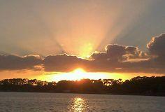 MT Dora Florida Attractions | Sunset on Lake Dora, Mt Dora, Florida December 2013