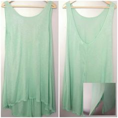 Green Body Glove Tank Top Excellent condition. Fast shipping! Thank you for checking out my closet! Xoxo Body Glove Tops Tank Tops