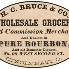 Today I'm sharing this Nostalgic Grocers and Bourbon Merchants Ad Label! This tan oval advertising label for a Wholesale Grocers in Cincinnati, Ohio is interesting to read. They deal in groceries, Bourbon and Domestic Liquors. So nice to use in your Vintage Craft or Collage Projects! Have you joined our Premium Membership Site yet? For one...Read More »
