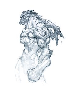 rough pencil joe mad | Tema: Darksiders - Concept Art (Joe Madureira)
