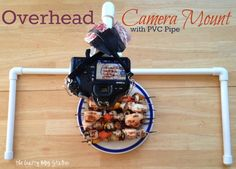 DIY Overhead Camera Mount - The Crafty Blog Stalker - making this ASAP!