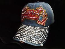 New Bling Girl Crystal Rhinestone Fashion Baseball Cap Trucker Hat