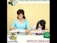 Cách dạy con học tốt tiếng việt