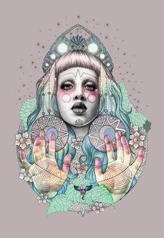 Fantastic illustrations by Jelena T.