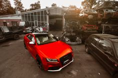 #Fostla Matte Red-Chrome #Audi RS5  #cars #automotive #sportscars #v8 #chrome #luxury #design  More from Fostla >> http://www.motoringexposure.com/aftermarket-tuned/fostla/