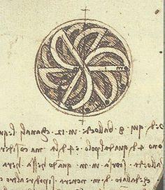 Leonardo da Vinci - Ruota ballotte, study