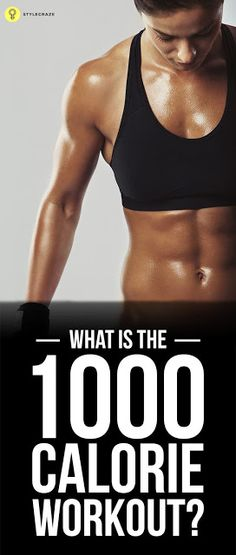 1000 Calorie Workout Routine – What Is It And How To Do It? | Medi Villas