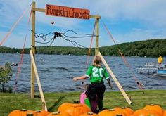 Kids Too Old for Pumpkin Patches? Try Pumpkin Chucking.