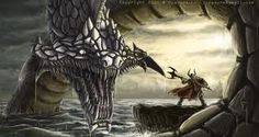 Norse Mythology: Jormungandr is a giant creature known as the world serpent.