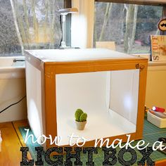 4 You With Love: DIY Folding Light Box