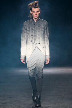 Ann Demeulemeester Fall 2012 Menswear - Collection - Gallery - Style.com