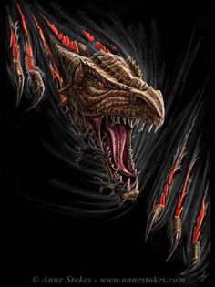 'DRAGON RIP' by Anne Stokes Pictures, Images and Photos