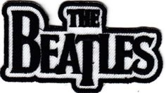 THE-BEATLES-Iron-On-Embroidered-Applique-Patch-Music-Musicians-Rock-NRoll-Band