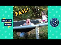 Awesome Videos: Funniest Trampoline Fails Montage - Funny Best Vin...