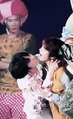 2Min : My babies are kissing and I'm so so so happy and proud about it!!
