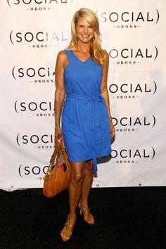 Glamour. Christie Brinkley's Style Evolution 2007 Getty.