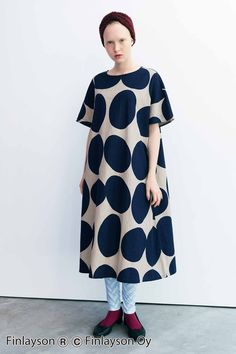 Minimal Fashion, New Fashion, Spring Fashion, Womens Fashion, Echino, Marimekko, Jumpsuit Dress, Comfortable Fashion, Simple Dresses