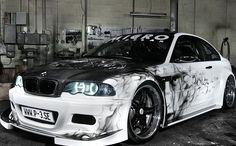 Image via Tuning : BMW German Special Customs Image via BMW black Car Paint Jobs, Custom Paint Jobs, Custom Cars, Auto Paint, Custom Wheels, Dark Fantasy Art, Bmw Sports Car, Bmw Tuning, Custom Car Interior