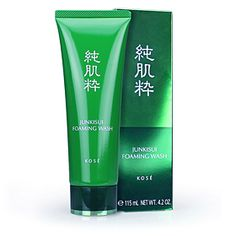 ลดราคา Kose Junkisui Foaming Wash 115 ml. โฟมล้างหน้าทำความสะอาดผิวได้อย่างล้ำลึก อ่อนโยนต่อใบหน้า