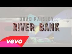 Watch the music video for Brad Paisley's single River Bank [Lyric Video] with lyrics to sing along to. Country Music Videos, Country Songs, Music Guitar, Music Lyrics, Sound Of Music, My Music, Banks Lyrics, Like This Song, Bluegrass Music