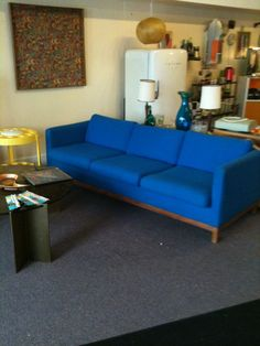 blue couch google search