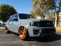 Three Special 2015 Ford Expedition EcoBoost Showcasing at SEMA 2014