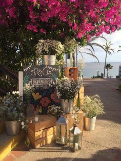 #welcomeset #escenariosunicos Bodas para recordar, outdoor wedding, flores, flowers, paletas, palets @areagourmet