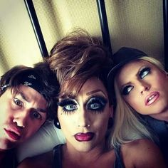 Adore, Bianca & Courtney,i love how bianca and courtney have their makeup and adore doesnt give an f,love her.