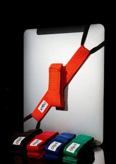 This simple strap helps you hold on to your iPad or tablet and protect your investment! Great for kids, teachers, coaches, or anyone really! #education #tech #gadgets