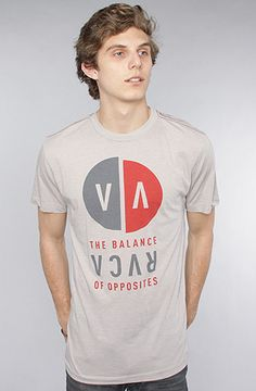 #Karmaloop The VA Detached Vintage Dye Tee in Cool Grey by RVCA  Use rep code:XLOOP for 20% off  Retail:$27.00