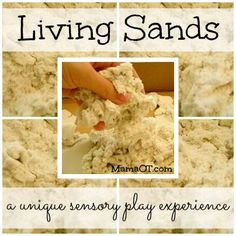 Living Sands: A unique sensory play experience! - Pinned by @PediaStaff – Please Visit  ht.ly/63sNt for all our pediatric therapy pins