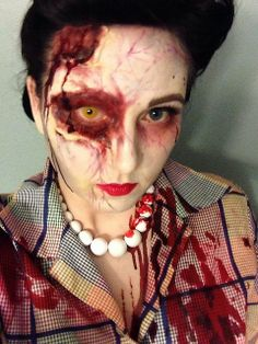 50's housewife zombie fun! | Flickr - Photo Sharing!