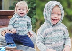 Hooded Jacket Brand: Elle Count: Yarn: Sock Wool Yarn has been discontinued – another yarn can be used as a substitute Size From: Birth Size To: 3 years Jacket Brands, Baby Patterns, Wool Yarn, Hoods, Hooded Jacket, Baby Kids, Turtle Neck, Graphic Sweatshirt, Knitting