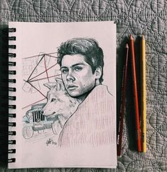 *plays teen wolf intro* 🕵️‍♂️🐺 Dylan O'Brien Teen Wolf Fan Art, Wolf Sketch, Art Drawings Sketches, Dylan O'brien, Werewolf, Art Reference, Character Art, Plays, Netflix