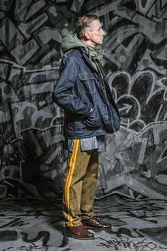 エンジニアド ガーメンツ 2016-17年秋冬コレクション - 重ねて奏でるダンディズム | ニュース - ファッションプレス