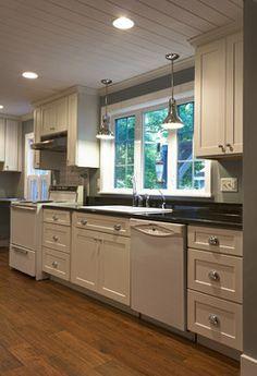 White Kitchen Cabinets | Mission Cabinets | CliqStudios - contemporary - kitchen - minneapolis - by CliqStudios Cabinets