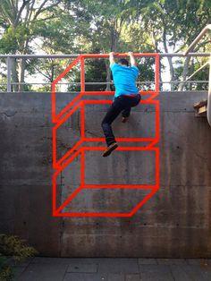 Arte urbano, las mates se suben por las paredes - Tocamates - matemáticas y creatividad