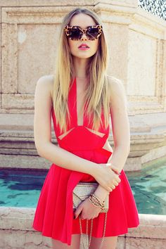 Michael Kors bag - Gucci dress