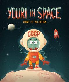 Little Spaceman by Joost van Schaik