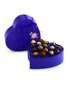 Exotic Heart, 16-Piece Truffles by Vosges Haut Chocolat at Bergdorf Goodman.