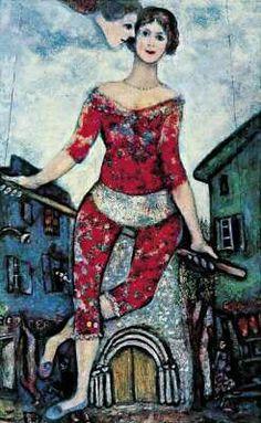 Marc Chagall - Acrobat